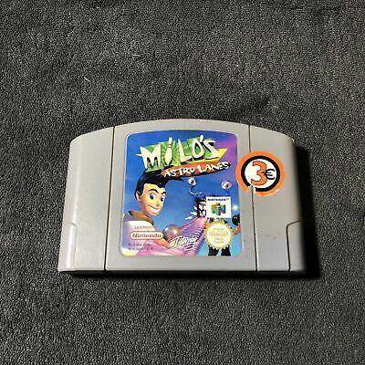 Nintendo 64 Milo's - Astro Lanes EUR Bon état
