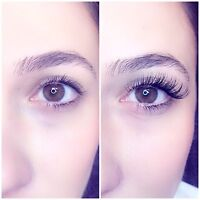 Classic/ Russian Volume 3-5D Eyelash Extensions