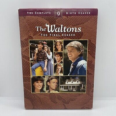The Waltons - The Complete Ninth Season (DVD, 2009, 3-Disc Set)