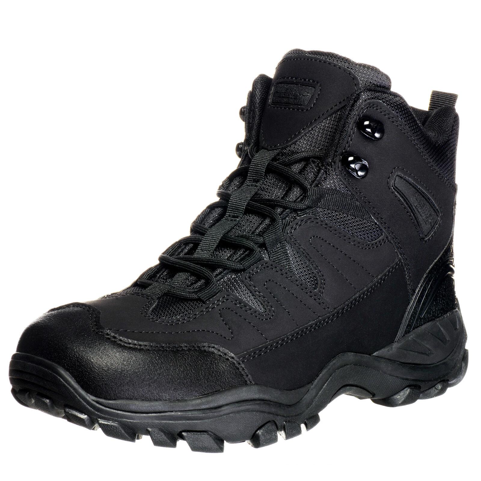 """Ameritac 6"""" Striker Elite Work Outdoor Tactical Men's Black Boots"""