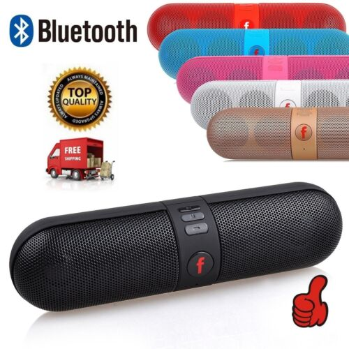NEW Portable Bluetooth Wireless FM Stereo Speaker For SmartPhone Tablet iPhone