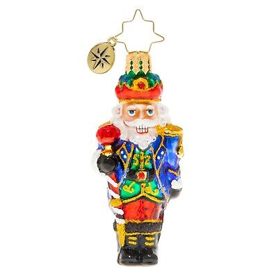 [NEW Christopher Radko COMMANDER OF THE NUTCRACKERS Christmas Ornament 1020256 </Title]