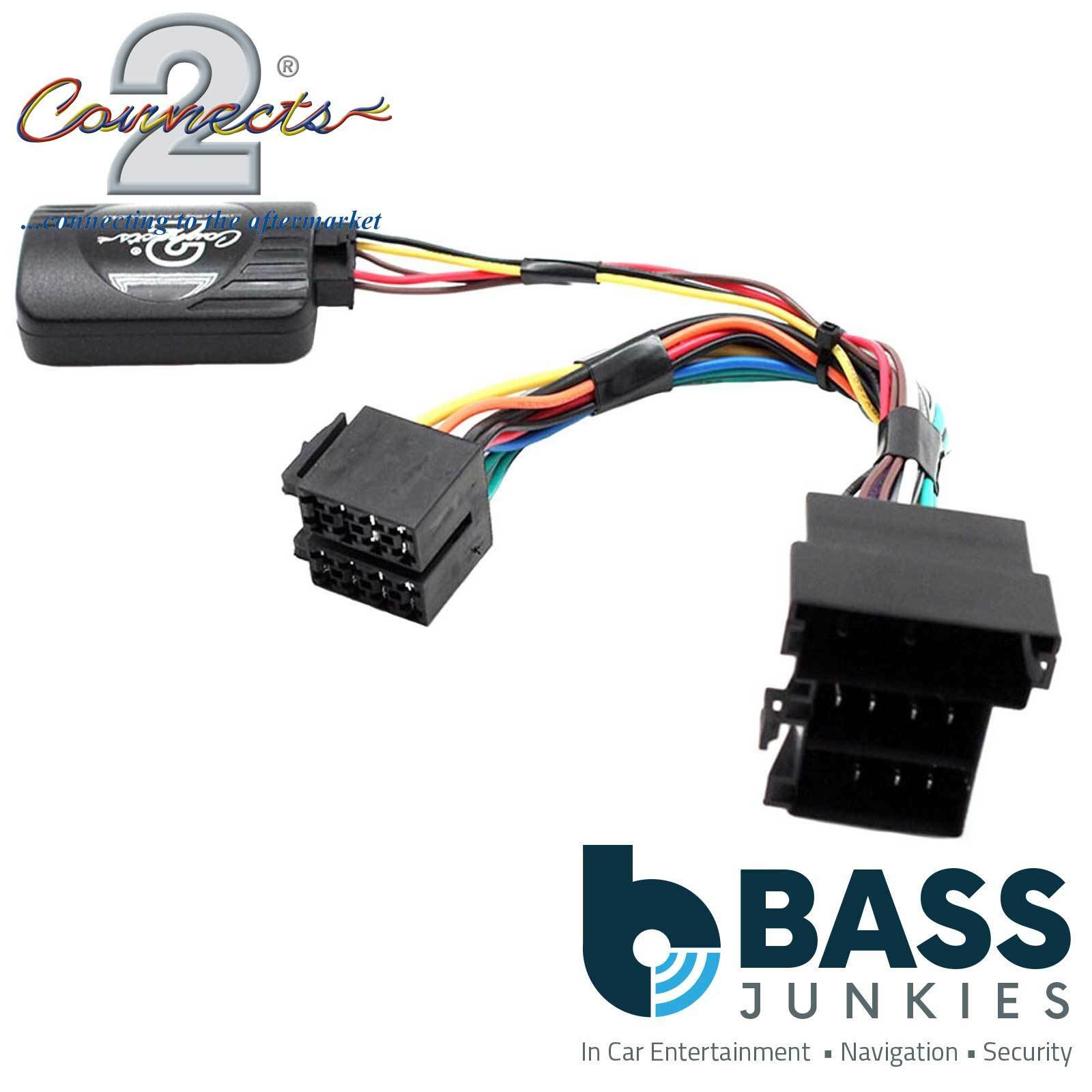 Connects2 CTSAD002.2 CAN-Bus steering control adaptor Audi