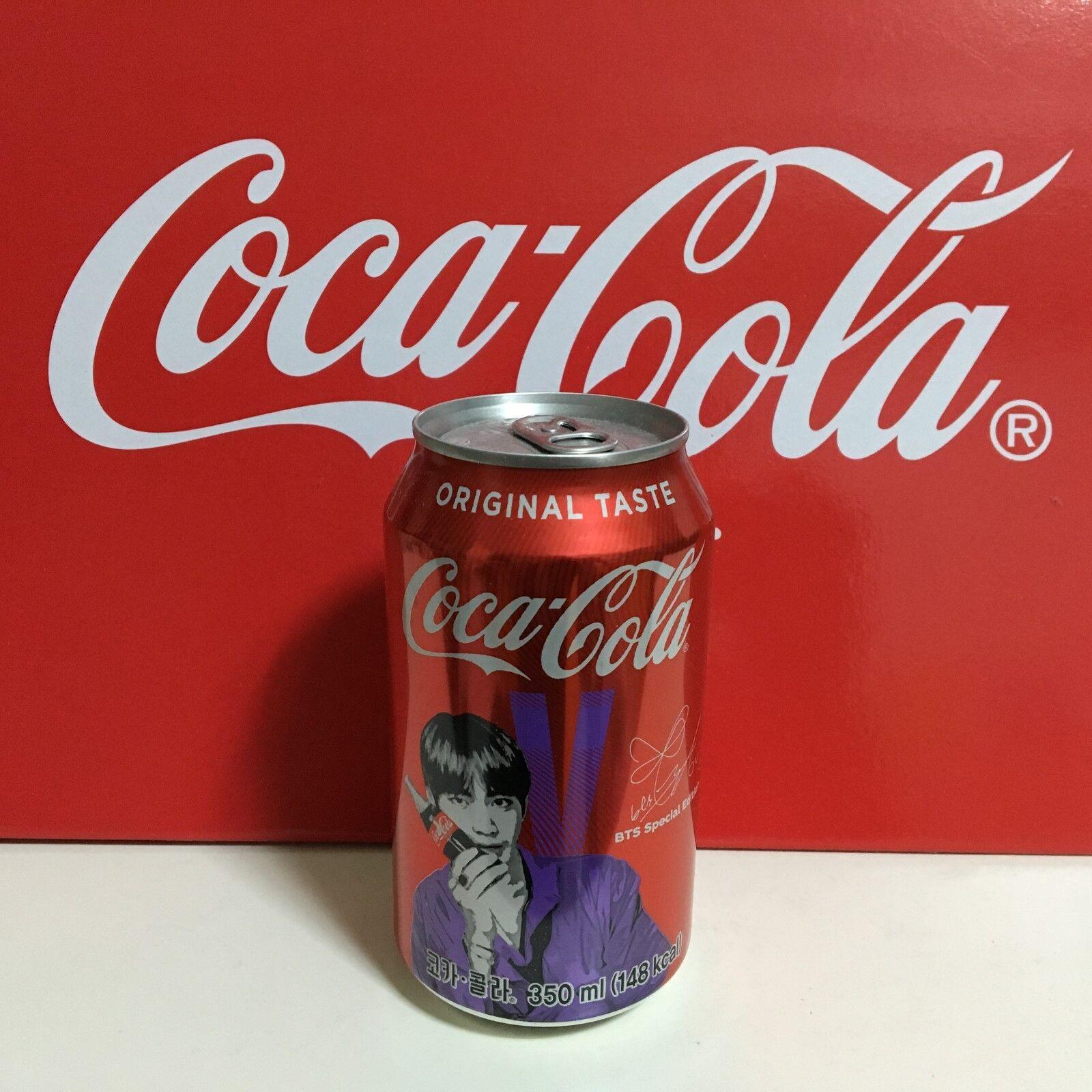 Korea Limited Edition Version 1 BTS Coca Cola Bottle