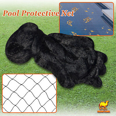 Protective Floating Net Pool Netting Pond 14'X14' Tub Mesh Cover Outoor Leaf