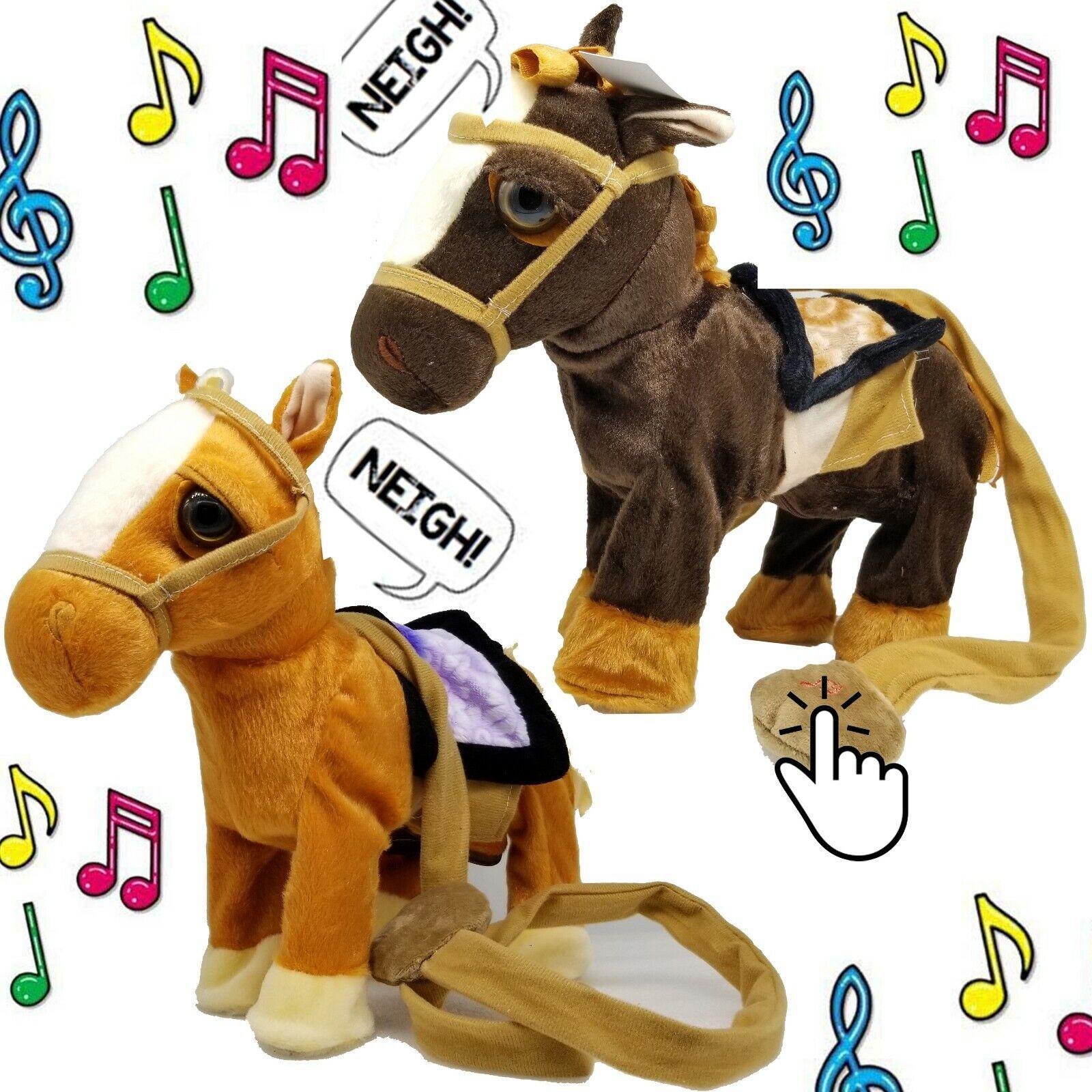 Magic Walking Singing Unicorn Plush Toy Doll For Children Kids Birthday Gifts UK