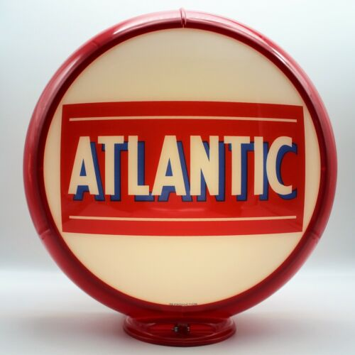 """ATLANTIC 13.5"""" Gas Pump Globe - SHIPS FULLY ASSEMBLED - READY FOR YOUR PUMP!"""