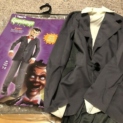 Goosebumps Slappy the Dummy Halloween Deluxe Costume Child's Size 7-8 NO MASK