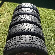 6 stud 15x10.5x7 Rims & Tyres Perth Region Preview