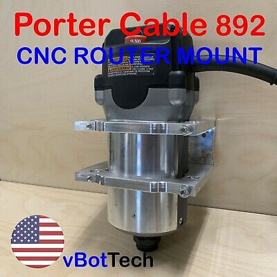 Cnc Routerspindle Mount Clamp Holder Kit For Porter Cable 892 Diy
