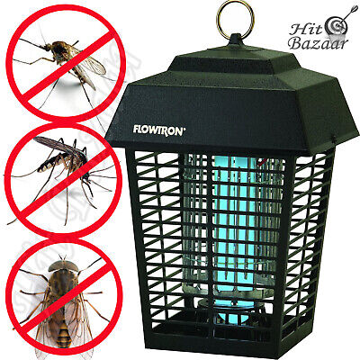 ELECTRONIC INSECT KILLER Bug Zapper 1/2 Acre Outdoor Mosquito Repellent Cover 1 Acre Outdoor Bug