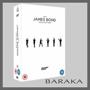 Bond-50-James-Bond-007-Complete-Collection-DVD-Box-Set-23-Discs-films