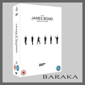 Bond 50 James Bond 007 Complete Collection DVD Box Set 23 Discs films
