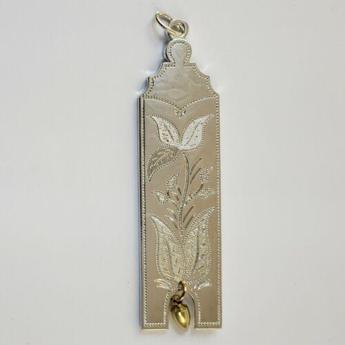Masonic Collar Jewel Junior Warden JW Plumb Silver Freemason Mason