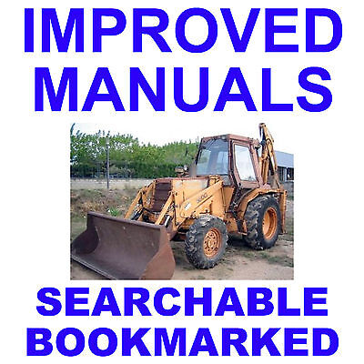 Case 580g Loader Backhoe Factory Operators Owner Instruction Improved Manual Cd