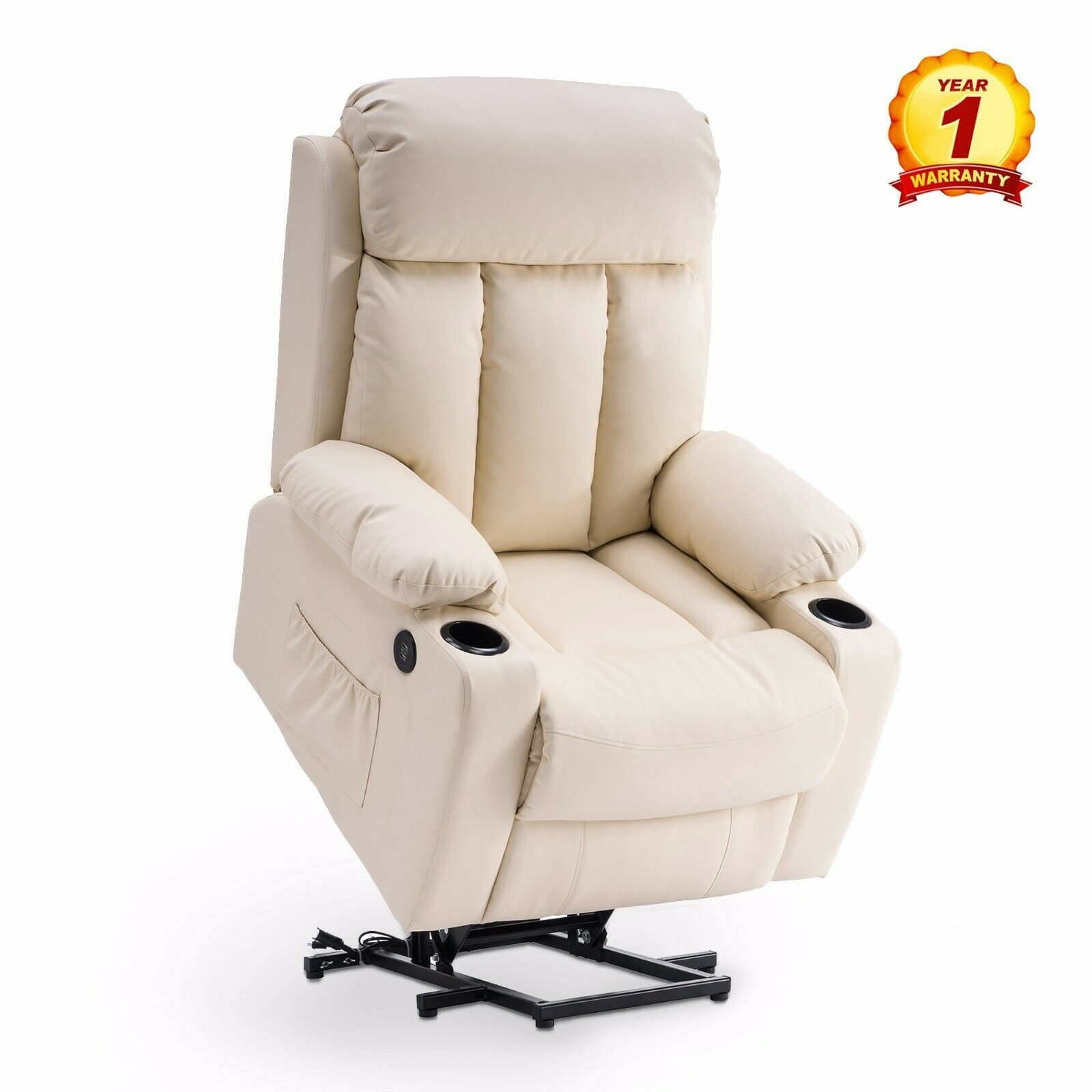 Oversized Power Lift Recliner Electric Chair Sofa For Elder Tall