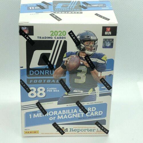 2020 NFL Donruss Football Trading Card Blaster Box NEW SEALED!