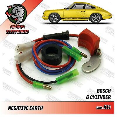 Porsche electronic ignition left hand points replacement kit Bosch Distributor
