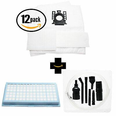 24 Vacuum Bags & 24 Micro Filters for Miele Capri, S8, Classic C1, S8590, S8990