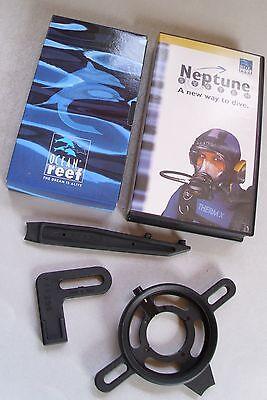 Vollgesichtsmaske Ocean Reef Neptune -  ReparaturSet Werkzeug+ Video VHS Video Gesicht