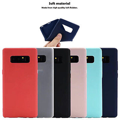 Thin Silicone Cute Candy Rubber Gel Tpu Case Cover Fr Samsung Galaxy Note8 S8 + (Cute Candy)