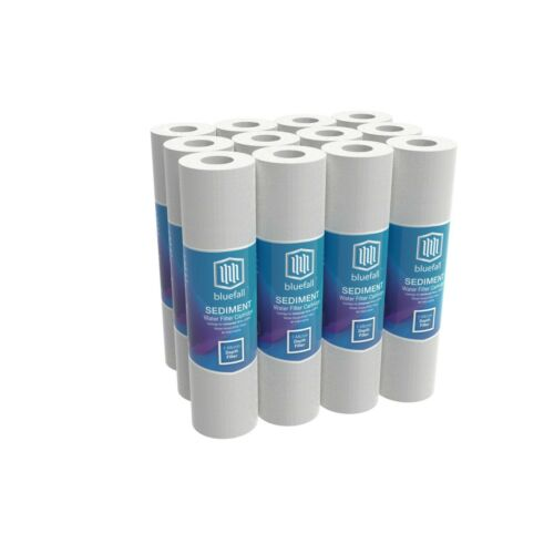 12 PACK 1 Micron Sediment Water Filters For Reverse Osmosis 10 in. x 2.5 in.