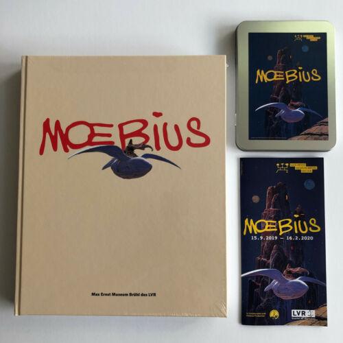 MOEBIUS ARTBOOK EXHIBITION CATALOGUE HARDCOVER HC SEALED RARE + LTD Postcard Set