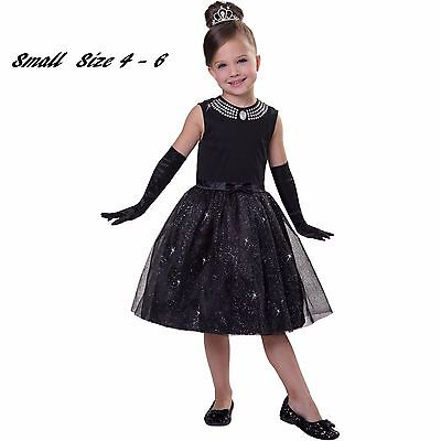 Child Movie Star Halloween Costume (Movie Star Child Princess Child Halloween Costume Small 4 -)