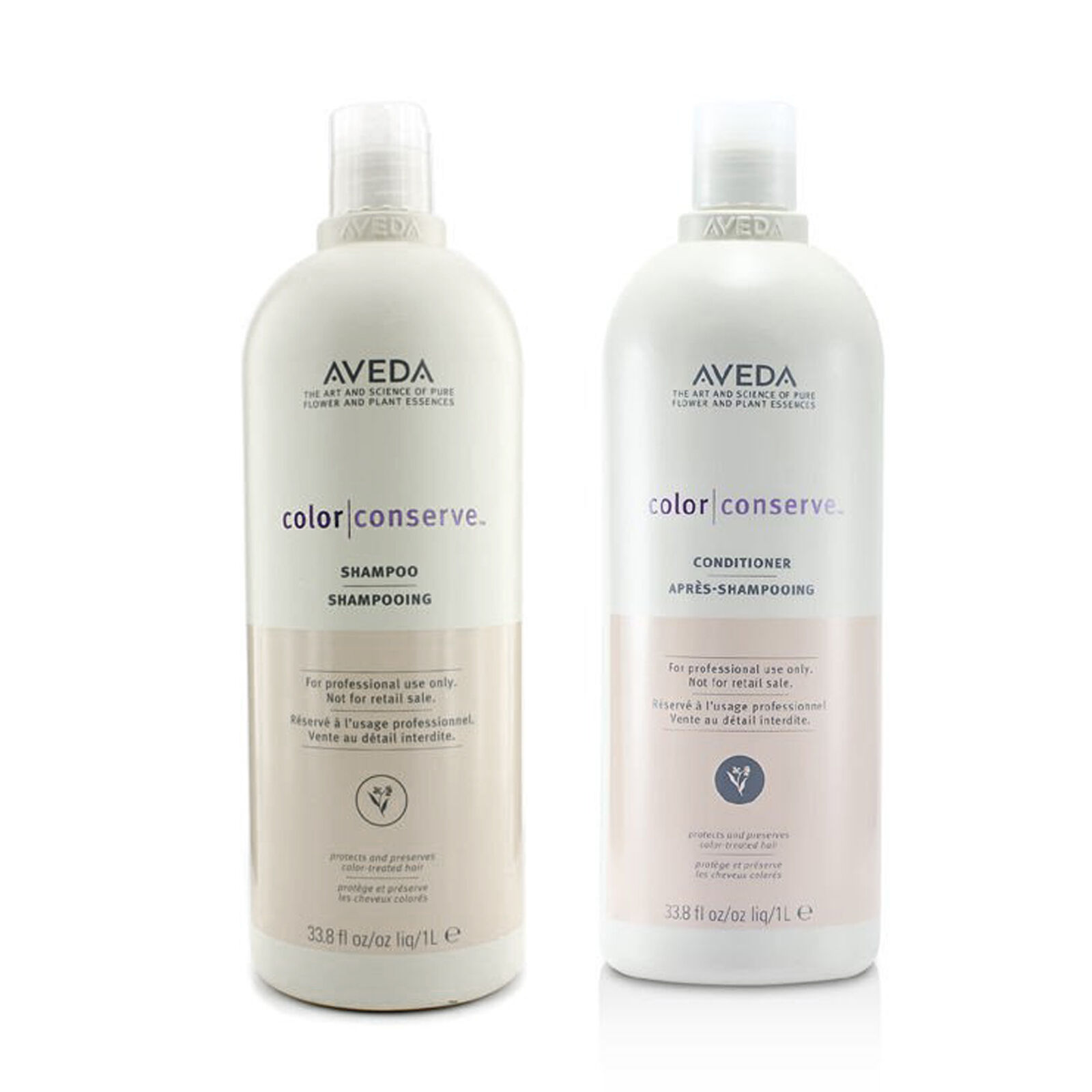 Aveda Color Conserve Shampoo and Conditioner 33.8 oz / 1 lit