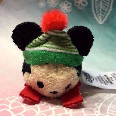Disney Tsum Tsum Micro Mini Plush 2017 Advent Calendar Sledding Mickey Mouse