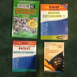 HSC texts for Maths Extension 1 Singleton Heights Singleton Area Preview