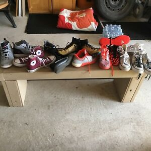 Various male and female shoes ($15 ea)
