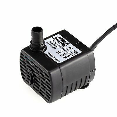 50 GPH Aquarium Fish Tank Submersible Pump Powerhead Fountain Water Hydroponic