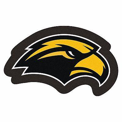 Southern Miss Golden Eagles Mascot Decorative Logo Cut Area Rug Floor Mat