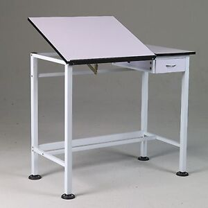 Drawing Art Hobby Craft SPLIT TOP Table Desk w Drawer