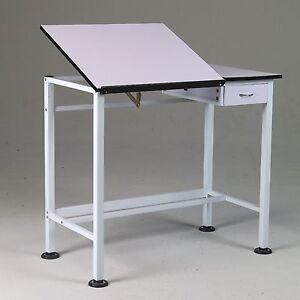 Drawing Art Hobby Craft SPLIT TOP Table Desk w Drawer