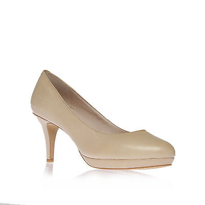 DESTI VINCE CAMUTO LEATHER NUDE WOMENS LADIES SHOE