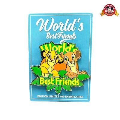 PIN BEST FRIEND Disneyland Paris SIMBA & NALA LE700 LIMITED