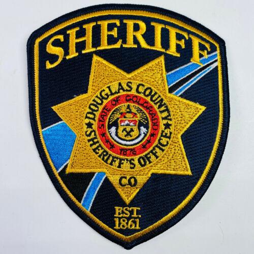 Douglas County Sheriff Colorado CO Patch (A1)