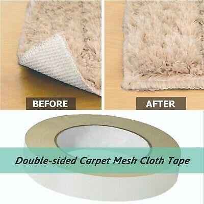 1x90ft1 Rollheavy-duty Double-sided Carpet Mesh Tape 1x30yds