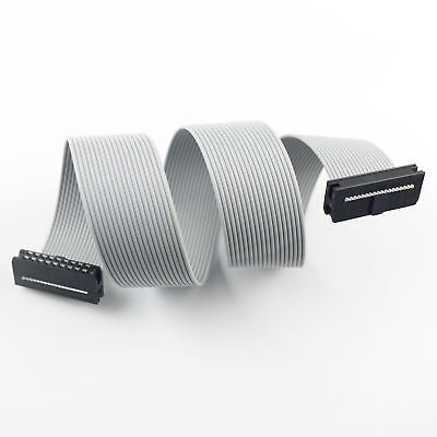 2pcs 2mm 2.0mm Pitch 2x9 Pin 18 Wire Extension Idc Flat Ribbon Cable Length 30cm