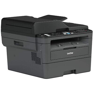 Laser Printer Multifunction Brother MFC-L2710DN Toner White Black USB Lan Adf