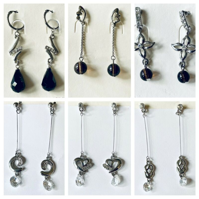 Wholesale Lot  6 Assorted Fashion Earrings