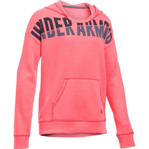 Under Armour pink favorite fleece hoodie sweatshirt NWT UPICK S M girls