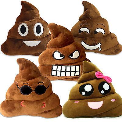 Rainbow Emoji Poo Poop Plush Emoticon Stuffed Pillow Cushion Kid Gift Decoration - Rainbow Poop