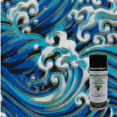 Hydrographic Film Water Transfer Film Hydro Dip Kit 6 Oz Activator Blue Waves