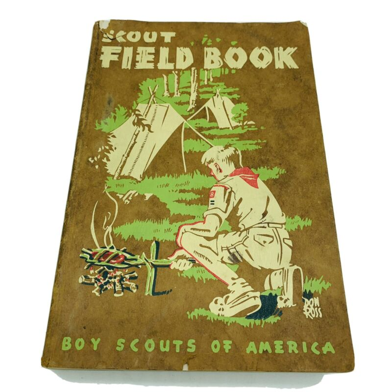 Vintage Boy Scouts Of America Scout Field Book 1948 Paperback