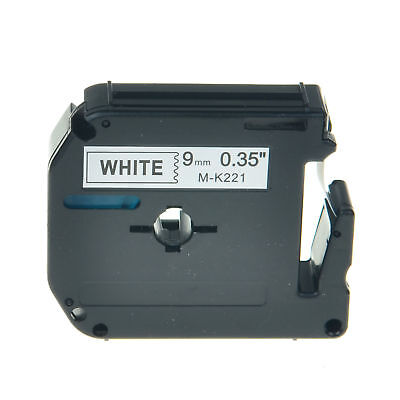 Compatible For Brother P-touch Pt80 Pt90 M-221 Mk221 Black On White Label Tape