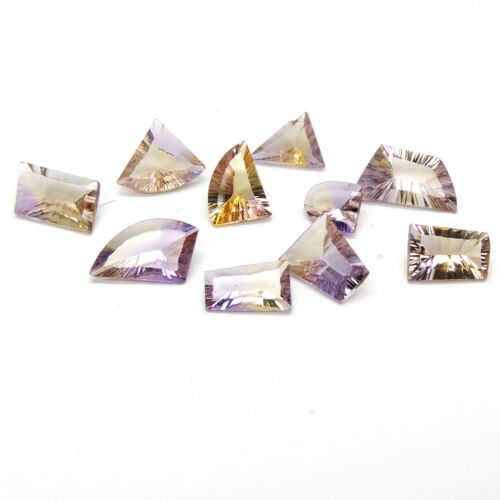 35.15 ametrine fancy cut gemstone