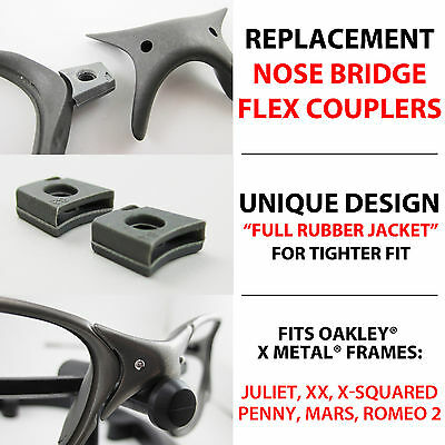 Flex Couplers Oakley X Metal Juliet Xx X Squared Mars Penny Romeo 2 Nose Parts